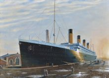 Titanic - Fitting Out at Belfast